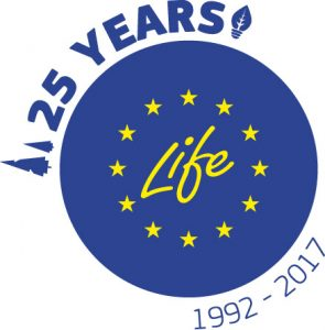 logos 25y life 295x300 - LIFE Programme: Celebrating 25 Years of Support for the European Nature