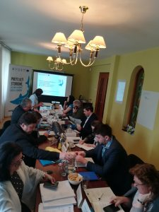 """Round Table Stakeholders meeting 17.04.2018 c WWF Romania 11 225x300 - Second """"LIFE for Danube Sturgeons"""" Stakeholders Committee Meeting in Romania"""