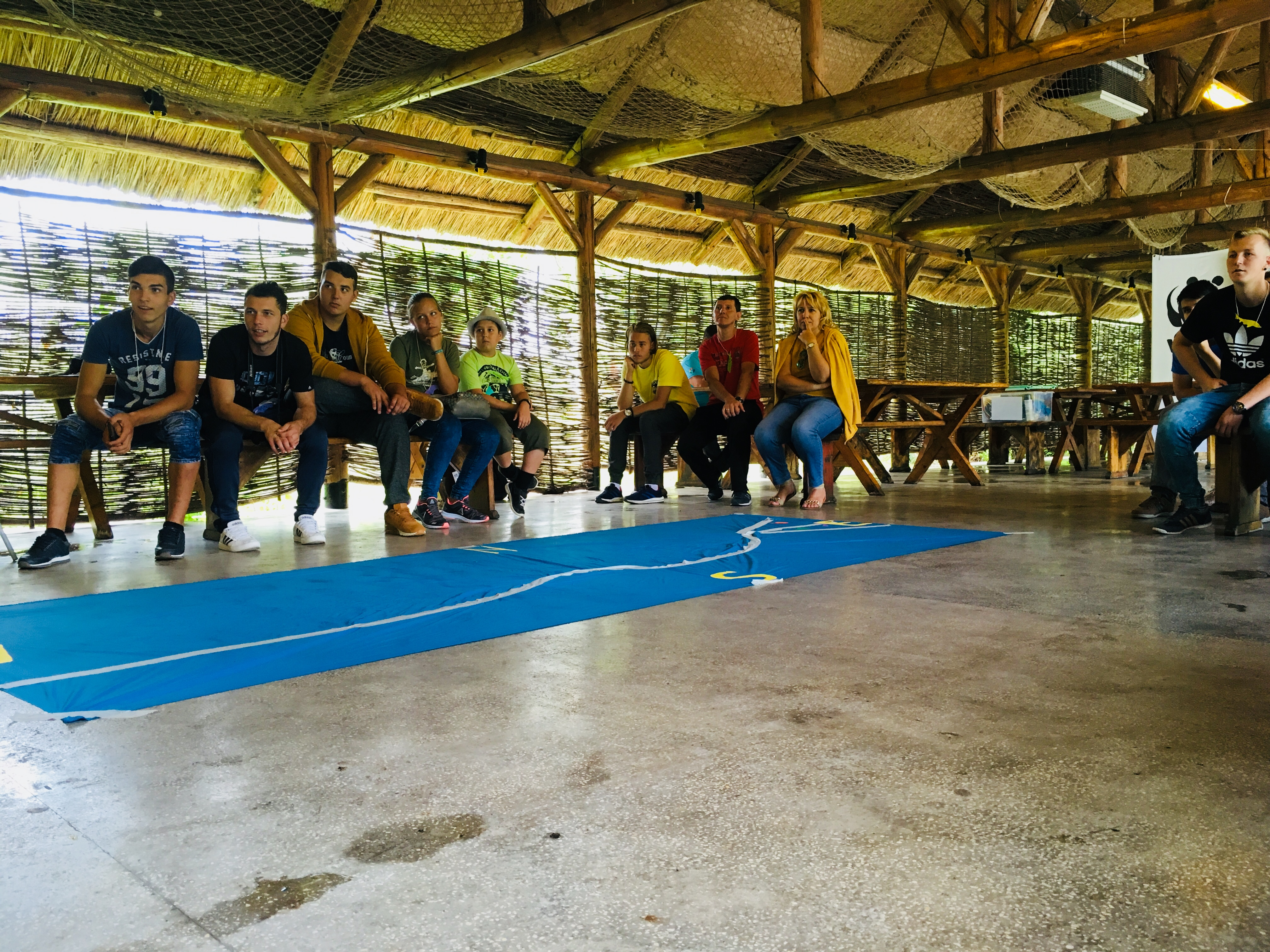 "WWF Romania introduced ""Active Youth Academy"" in fishing communities"