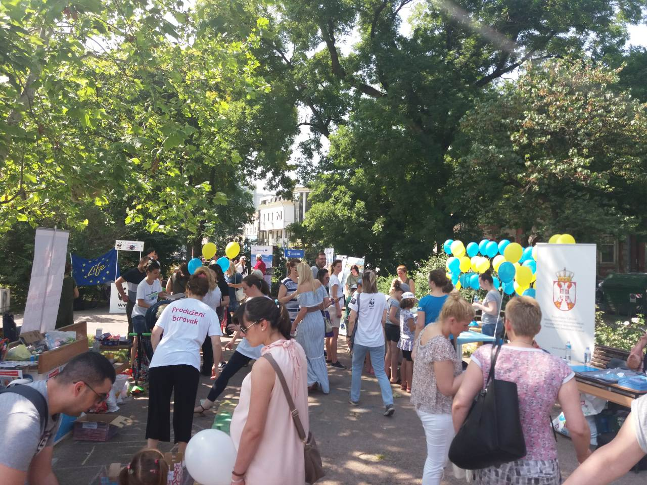 WWF celebrates the Danube Day with its younger supporters