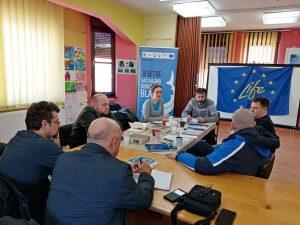 Sastanak slika 2 300x225 - Održani sastanci sa lokalnim partnerima u Negotinu