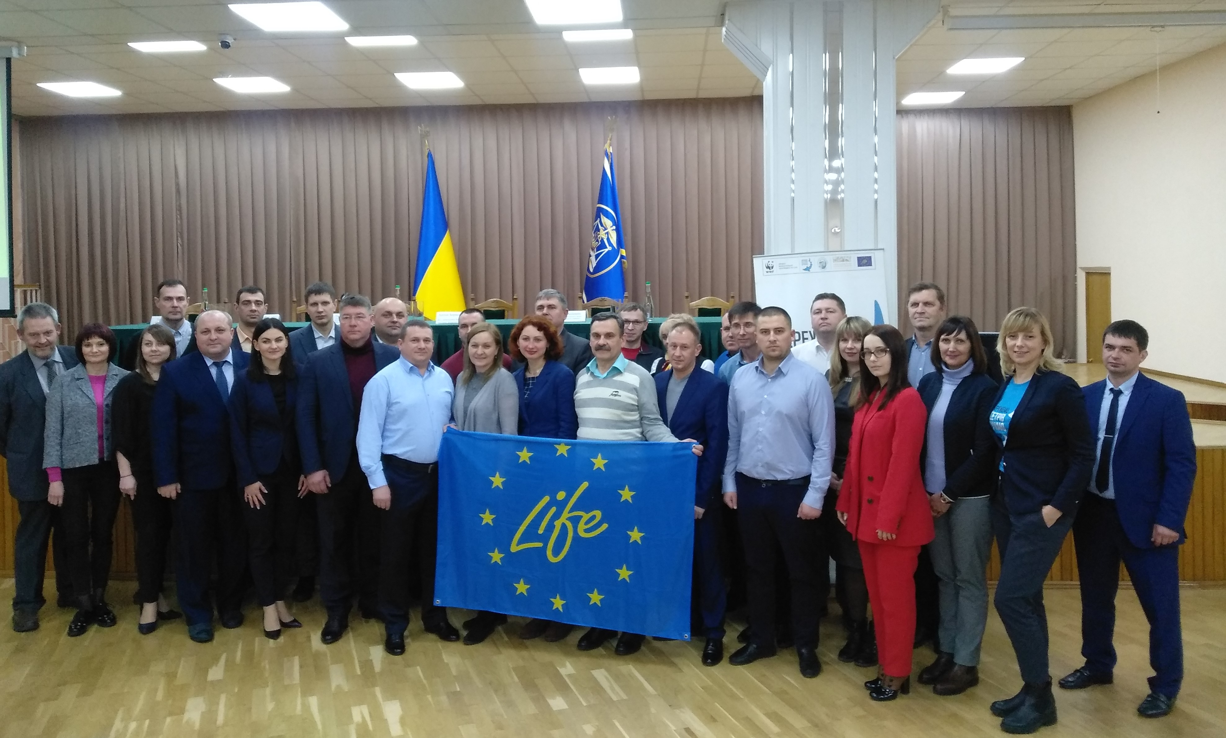 WWF-Ukraine Trains Authorities to Combat Illegal Wildlife Trade of Sturgeon Products